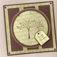 Sympathy Card, Thoughts & Prayers, Stampin Up