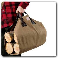 Filson log carrier | For the new home owner