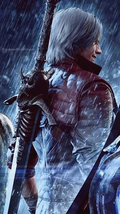 My arts and other stuff - Devil May Cry - Game Gaming Wallpapers, Animes Wallpapers, Game Art, Castlevania, Dante Devil May Cry, Demon Hunter, Fantasy Weapons, God Of War, Manga