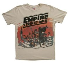 Mens Empire Strikes Back T-Shirt Russ would love this.