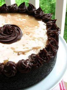 Caramel Fudge Brownie Cheesecake. WOW!