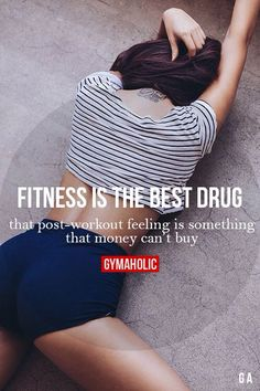 Fitness Motivation : Fitness Is The Best Drug That post-workout feeling is something that money can Fitness Workouts, Sport Fitness, Fitness Goals, Fun Workouts, Fitness Tips, Health Fitness, Fitness Planner, Workout Exercises, Sport Motivation
