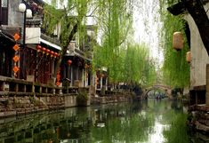 """Old town Zhouzhouang China"" by derSheltie at deviantART."
