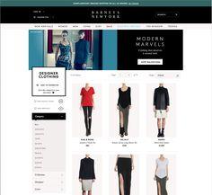 Barneys web page