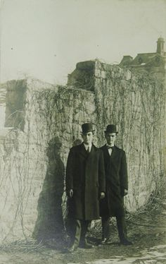 Untitled (men in hats)  Unknown Photographer  December 1925. Gelatin silver print