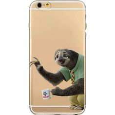 Zootopia Flash iPhone Case  Flexible Transparent Silicon Case  Case for iPhone 5 - 5s - 5c - 6 - 6s - 6 Plus - 6s Plus - 7 - 7 Plus  Shipping 20-39 days (ships out within 7 business days)
