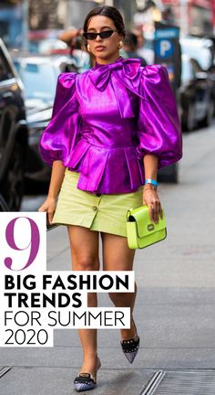 9 Big Vintage Fashion Trends For Summer 2020 #style #ootd #fashion #summer2020trends #fashiontrends Europe Fashion, 2000s Fashion, Big Fashion, Modest Fashion, Vintage Fashion, Fashion Tips, Fashion Black, Work Fashion, Fashion 2020