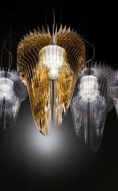 'La fluidità, l'impalpabile leggerezza e la dinamicità di un plissé'
