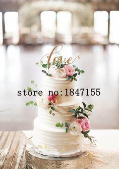 Glitter or amour gâteau de mariage Topper gâteau d'anniversaire Topper Stand gâteau Cupcake Toppers avec livraison gratuite dans Accessoires de fêtes et d'évènement de Maison & Jardin sur AliExpress.com | Alibaba Group