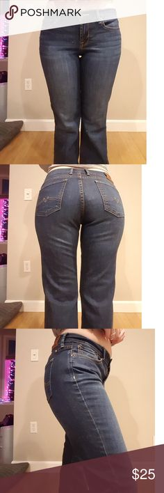 Lucky brand jeans, size 6 Size 6, great condition, lucky brand flare jeans Lucky Brand Jeans Flare & Wide Leg