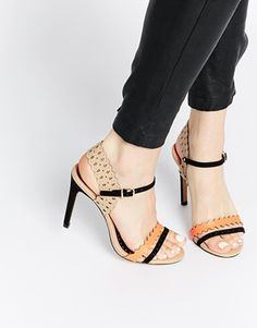 Miss KG Posey Nude Heeled Sandals at ASOS. Womens Boots On Sale, Boots For Sale, Shoe Boots, Ankle Boots, Shoes Heels, Miss Kg, Shoes Outlet, Shoe Sale, Shoes