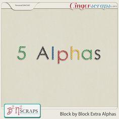 Block By Block Alphas by B2N2 Scraps