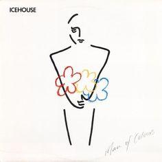 Icehouse Man Of Colours vinyl LP album original 1990 Mint condition by pickergreece on Etsy