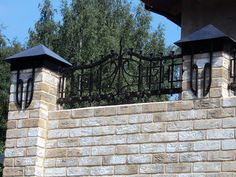 Портфолио | Metal made кованое навершие на забор с декоративным оформлением столбов http://www.metal-made.ru/portfolio/