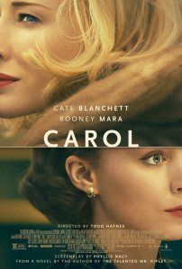 Reel Charlie's review of I can't imagine anyone else directing the Patricia Highsmith adaptation of her novel, The Price of Salt. Todd Haynes was born to create Carol. Every moment in Carol quietly tells the simple story o...