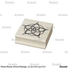 Venus Flower of Love Pentagram - TriColor