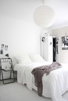 Clean and simple master bedroom