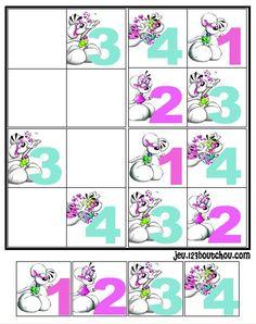 1000 images about sudoku on pinterest critical thinking - Jeu a imprimer pour adulte gratuit ...