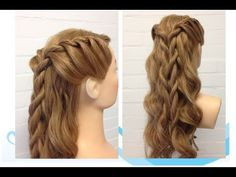 Twisten game of thrones hairstyle - YouTube