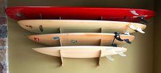 The Kaua'i Series - Surfboard Racks | Grassracks - Bamboo Board Racks and Furniture