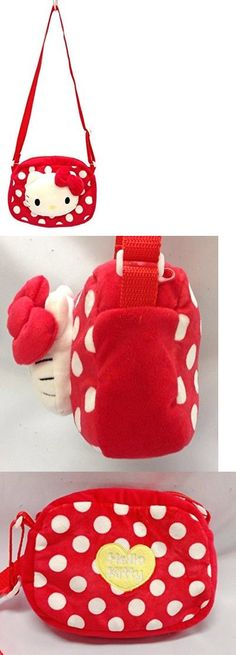 Bags 57748: Hello Kitty Kawaii Shoulder Bag Sanrio Authentic Fashion Accessories Red Toddler -> BUY IT NOW ONLY: $31.99 on eBay!