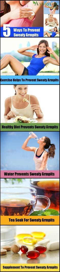 How To Prevent Sweaty Armpits