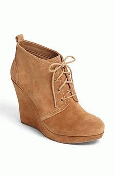 cute casual wedge #bootie by Jessica Simpson