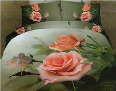 #Pościel_3D Las Vegas Pościel z trójwymiarowym efektem róż w spokojnej stonowanej kolorystyce.   Pościel wykonana z wysokogatunkowej satyny bawełnianej.  Produkt najwyższej jakości.    W skład pościeli 3 częściowej wchodzi:  poszwa 160 x 200 cm lub 220 x 200 cm dwie poszewki 70 x 80 cm kasandra.com.pl