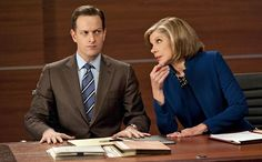 Will Gardner & Diane Lockhart, 'The Good Wife'  They weren't scared to butt heads, but they always ended things on a good note, sometimes even with a dance.
