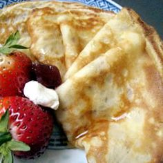 Real French Crepes An Excellent And Easy Crepe Recipe Breakfast And Brunch, Best Breakfast, Breakfast Recipes, European Breakfast, Mexican Breakfast, Pancake Recipes, Breakfast Sandwiches, Breakfast Pizza, Waffle Recipes