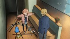 Kyoukai no Kanata moe Slice Of Life, Manga Art, Manga Anime, Super Hero Life, Mirai Kuriyama, Beyond The Boundary, Funny Horses, Clannad, Best Waifu