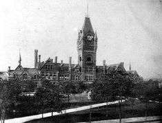 Old Milwaukee Road station on the lakefront