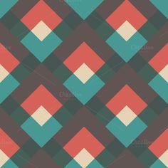 oblique retro pattern