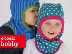 Nähanleitungen Kind - BOBBY Schlupfmütze mit Kapuzenlook, ebook - ein Designerstück von schnittreif bei DaWanda