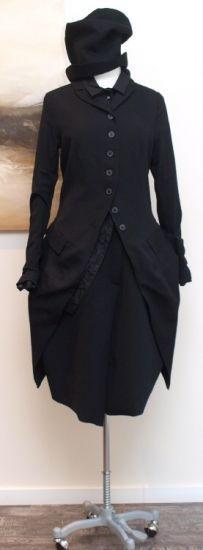 rundholz - Bluse mit Ecken black - Winter 2014 - stilecht - mode für frauen mit format...