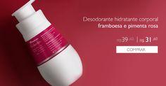 http://rede.natura.net/espaco/outletchic Conheça a linha de produtos NaturaTododia!! #maishidratação #comprenaOUTLETCHIC