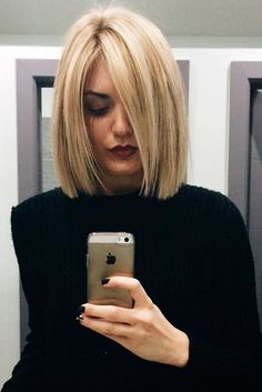 Beautiful Medium Bob Haircuts ★ See more: http://lovehairstyles.com/beautiful-medium-bob-haircuts/