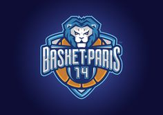 The new logo of the Basket-Paris 14 club based in south Paris.