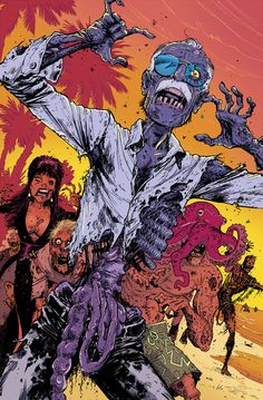 Zombie Stan Lee Lines byTony Moore Color by Rico Renzi