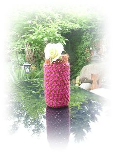 Windlicht oder Vase von Taschenatelier auf Etsy, €10.00