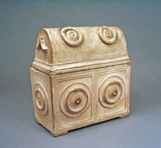 1st century Jewish ossuary. For the crafty, ossuaries are a great inspiration for casting your own planter boxes in hypertufa, plaster, or resin.