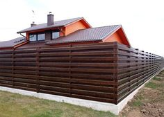 types of terraces / виды террас Metal Fence, Wooden Fence, Fancy Fence, Japanese Fence, Privacy Landscaping, Front Yard Fence, Exterior Remodel, Outdoor Living, Outdoor Decor