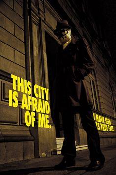 Watchmen, Rorshach: Fear by rescend.deviantart.com