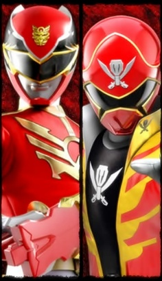 Red Ranger Power! #Megaforce #Goseiger #Gokaiger