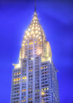 The Chrysler Building is absolutely stunning.
