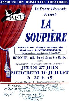 Troupe de l'Estacade - Roscoff: La soupière; Robert Lamoureux  http://troupedelestacade.blogspot.fr/search/label/La%20soupi%C3%A8re%3BRobert%20Lamoureux