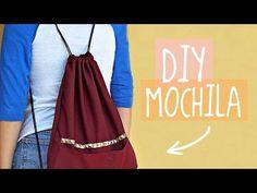 DIY - COMO HACER UNA MOCHILA SUPER FÁCIL | Danielalala - YouTube