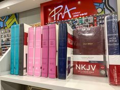 Find rejuvenation in your daily scripture from your nearest PNA - a variety of Bibles in multiple translations and formats available. Art And Craft Materials, Daily Scripture, Stationery Shop, Textbook, Locker Storage, Bible, Lettering, Education, Books