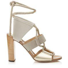 Las sandalias cargadas de colores protagonizan la colección de Jimmy Choo para esta Primavera-Verano 2016 | Calzado para ti
