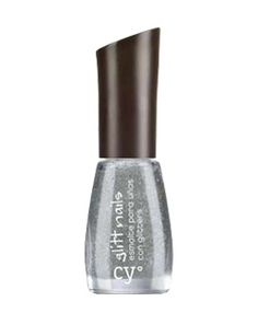 Cyº glitt nails de Cyzone - Más glitter por favor! (Tono Silver Glitt)
